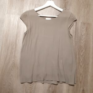 Wilfred juliger blouse taupe/ beige